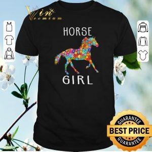 Official Horse Girl Riding Flower Horses shirt sweater