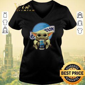 Official Star Wars Baby Yoda hug Blue Moon shirt