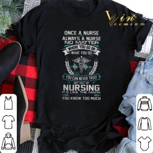 Once a nurse always a nurse no matter where you go or what you shirt sweater