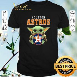 Original Baby Yoda Hug Houston Astros Logo shirt sweater