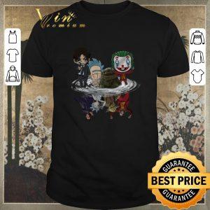 Original Baby Yoda John Wick Rick Sanchez Joker water mirror reflection shirt sweater