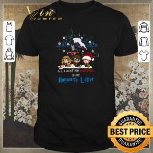 Original Harry Potter Characters Chibi All I Want For Christmas Is My Hogwarts Letter shirt sweater