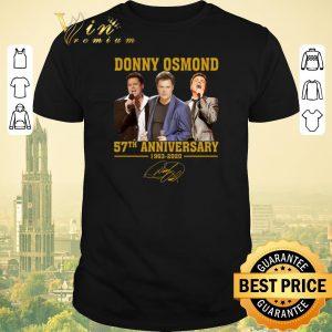 Original Signature Donny Osmond 57th anniversary 1963 2020 shirt