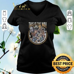 Original Star Wars Boba Fett this is the way shirt