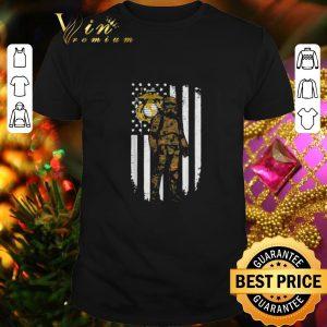 Original Stormtrooper America flag US Marine Corps camo shirt
