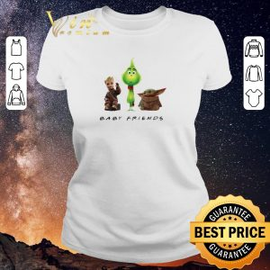 Premium Baby Friends Baby Yoda Baby Grinch And Baby Groot shirt sweater