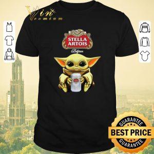 Premium Baby Yoda Hug Stella Artois Beer Star Wars shirt sweater
