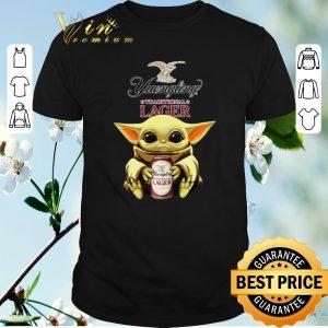 Premium Baby Yoda Hug Yuengling Lager Beer Star Wars shirt sweater