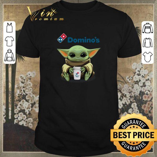 Premium Baby Yoda hug Domino's Pizza Star Wars Mandalorian shirt sweater