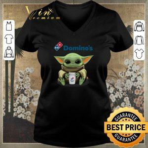 Premium Baby Yoda hug Domino's Pizza Star Wars Mandalorian shirt sweater 1