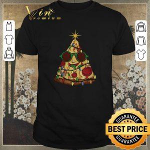Premium Christmas Tree Pizza shirt