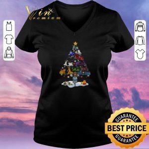 Premium Christmas tree Vespa shirt