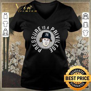 Pretty Gerrit Cole Pressure is a Privilege New York Yankees shirt sweater 1
