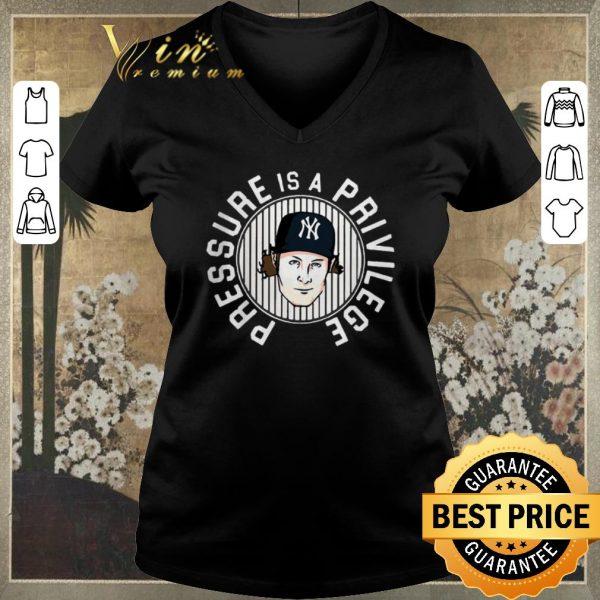 Pretty Gerrit Cole Pressure is a Privilege New York Yankees shirt sweater