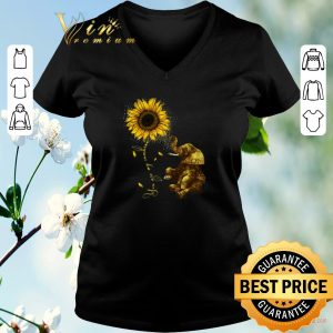 Pretty Sunflower you are my sunshine elephant shirt sweater
