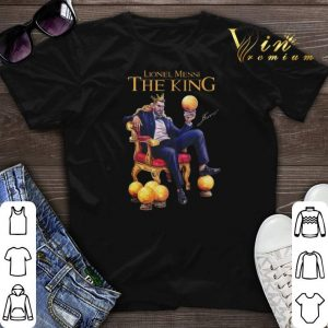 Signature Lionel Messi The King shirt