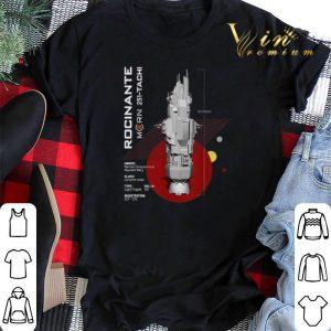 The Expanse Rocinante Ship shirt sweater