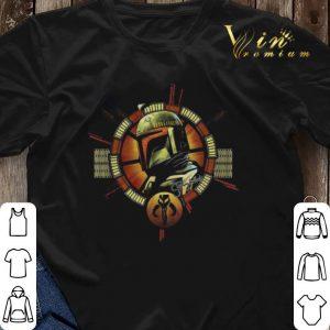 The Mandalorian logo Star Wars shirt sweater 2