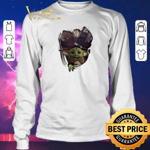 Top Baby Yoda The Mandalorian Torn Paper Star Wars shirt sweater 2