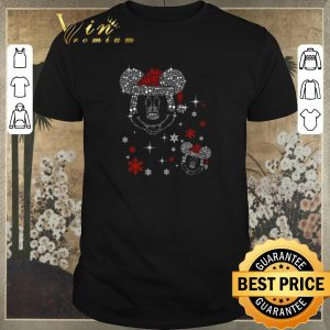 Top Diamond Mickey head Christmas shirt sweater