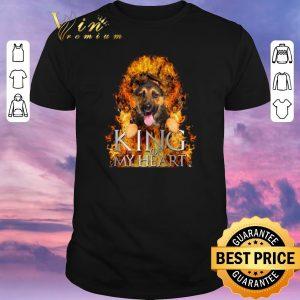 Top Game Of Thrones German Shepherd King of my heart shirt