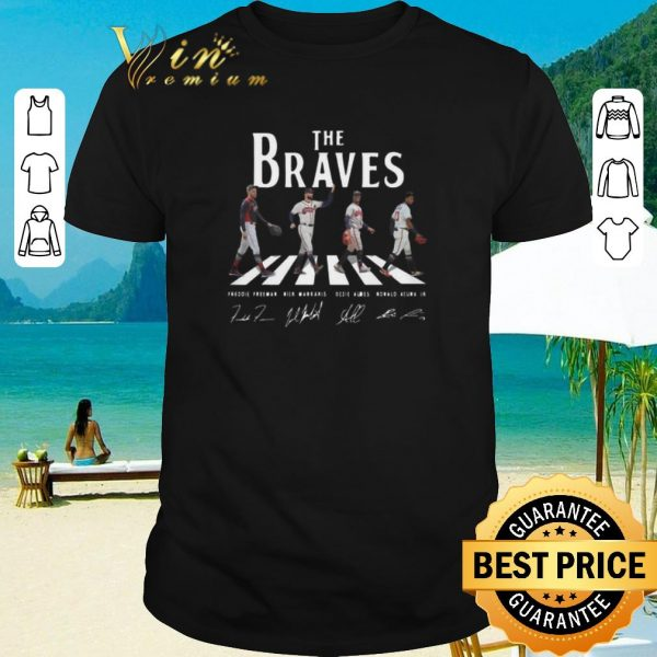 Top Signatures Atlanta Braves The Braves Abbey Road shirt 2020