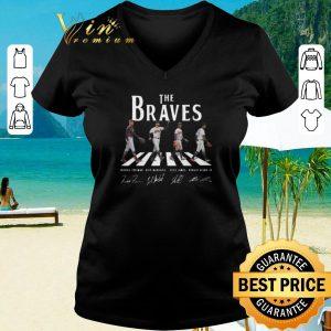 Top Signatures Atlanta Braves The Braves Abbey Road shirt 2020 2