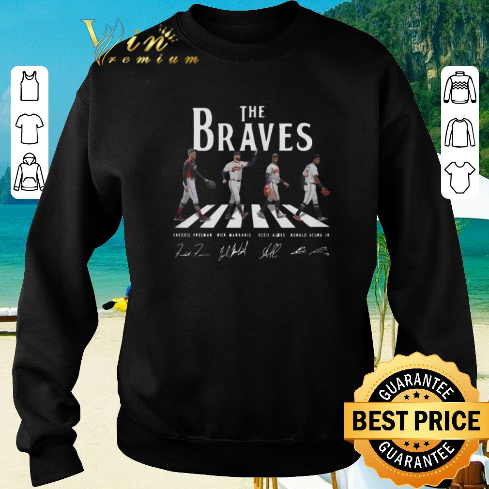 Top Signatures Atlanta Braves The Braves Abbey Road shirt 2020 4 - Top Signatures Atlanta Braves The Braves Abbey Road shirt 2020