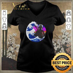 Top Star Wars Mandalorian Wave shirt