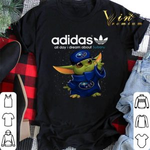 Adidas All Day I Dream About Subaru Baby Yoda shirt sweater