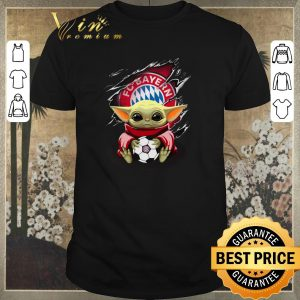 Awesome Baby Yoda Blood Inside Bayern München shirt sweater