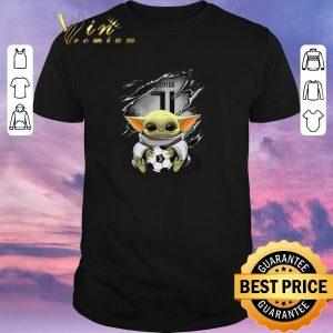 Awesome Baby Yoda Blood Inside Juventus shirt sweater