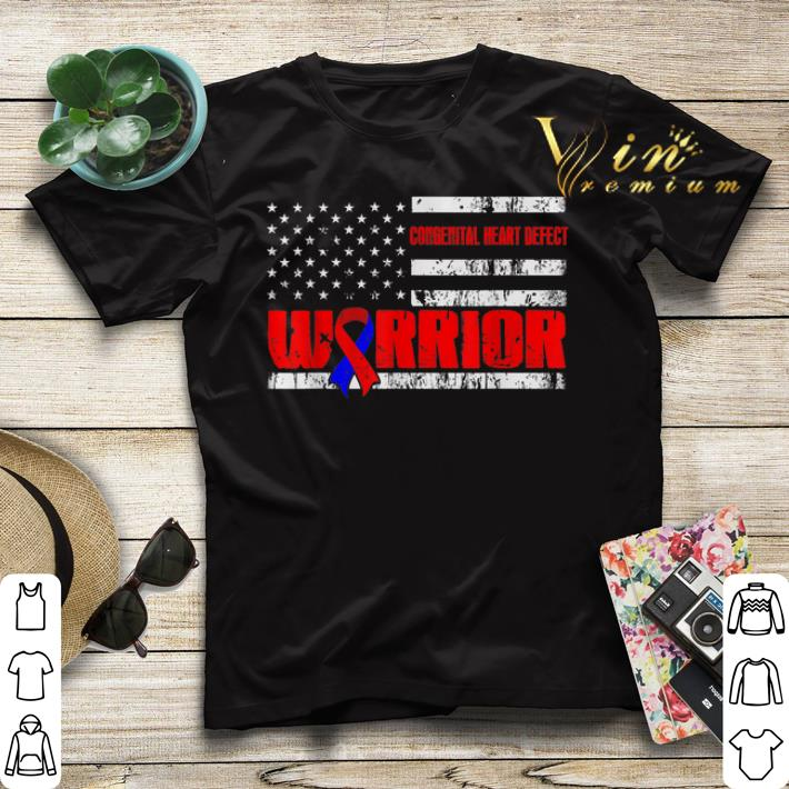 Congenital Heart Defect Warrior Awareness American flag USA shirt sweater 4 - Congenital Heart Defect Warrior Awareness American flag USA shirt sweater