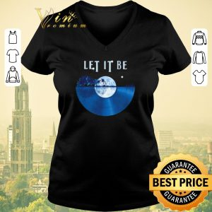 Funny The Beatles Let It Be disc music guitar lake shirt sweater