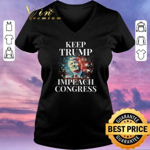 Funny Trump 2020 Keep Trump Impeach Congress Trump Supporters shirt sweater