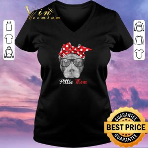 Hot Pitbull dog Pittie Mom shirt sweater