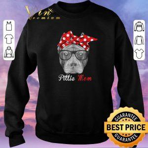 Hot Pitbull dog Pittie Mom shirt sweater 2
