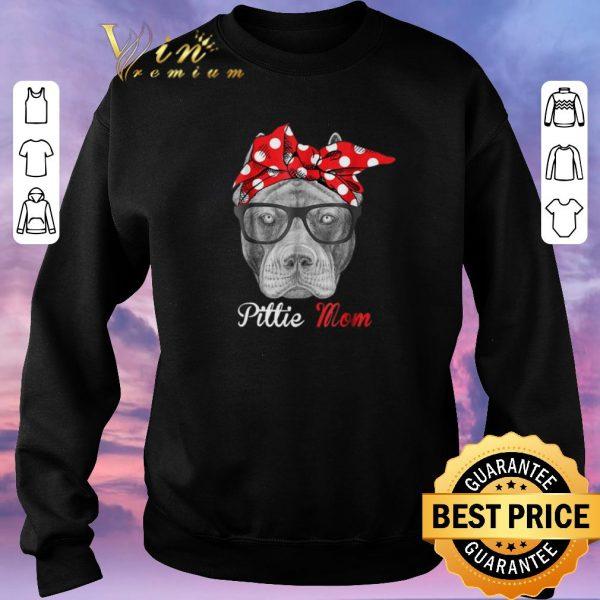 Hot Pitbull dog Pittie Mom shirt sweater