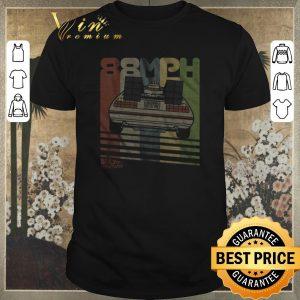 Hot Retro DeLorean 88MPH California Outatime Back to the future shirt sweater