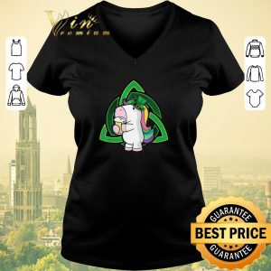 Nice Unicorn drink Beer Saint Patrick's Day shirt sweater