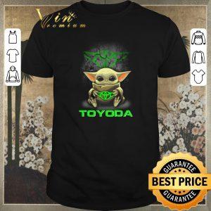 Official Baby Yoda hug TOYODA Toyota Star Wars Mandalorian shirt sweater