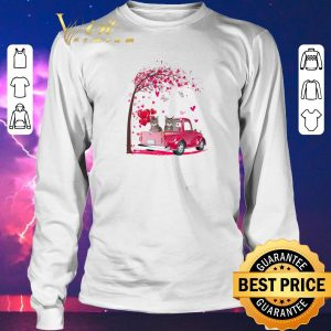 Official Cats Pink Truck Valentine's Day autumn leaf.png sweater 2