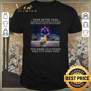 Official Wish You Were Here Delicate Sound Of Thunder Lyrics Pink Floyd shirt sweater
