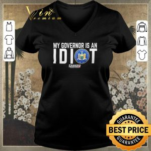 Original My governor is an idiot The Great Seal of The State Of New York shirt sweater