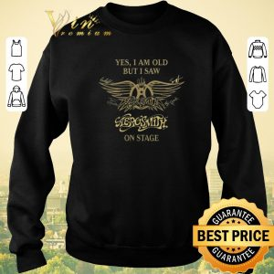 Pretty Yes i am old but i saw Aerosmith on stage signature autographed shirt sweater 2