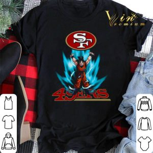 Son Goku San Francisco 49ers Logo Dragon Ball Z shirt sweater