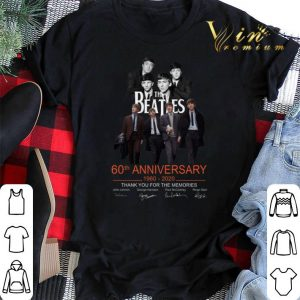 The Beatles 60th anniversary thank you for the memories signed shirt sweater