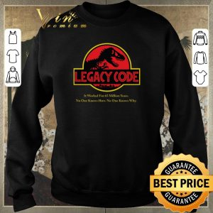 Top Jurassic Park Legacy Code it worked for 65 million years shirt sweater 2