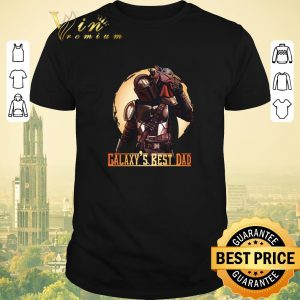 Top The Mandalorian and Baby Yoda Galaxy's Best Dad Star Wars shirt sweater