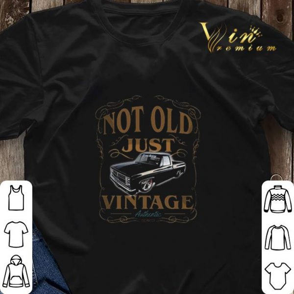 1982 chevy c10 black not old just vintage authentic shirt sweater